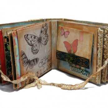 Album handmade Secret Garden