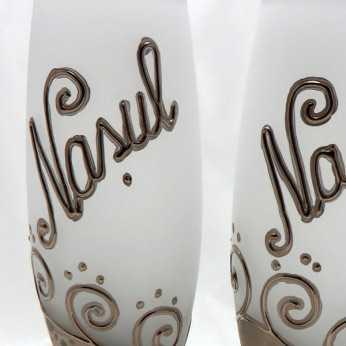 Pahare platina nasul si nasa