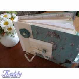 Caiet handmade pentru invitatii de la nunta