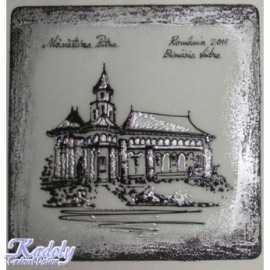 Placheta Manastirea Putna