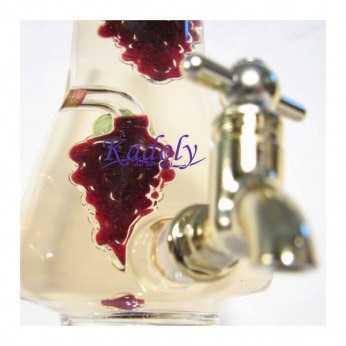 Sticla de vin cu robinet