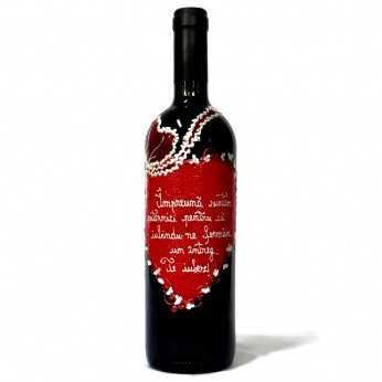 Sticla de vin declaratie dragoste