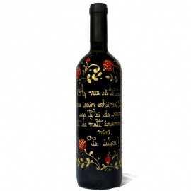 Sticla de vin pentru Indragostiti