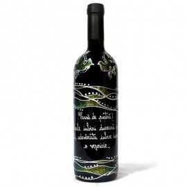 Sticla de vin personalizata El si Ea