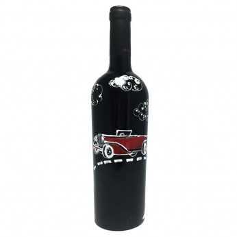Sticla de vin Automobil de epoca