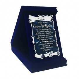 Cadou personalizat pentru Nasii de Botez