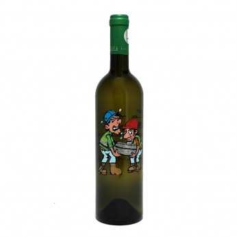 Sticla vin Cadou pentru Inginer Constructor