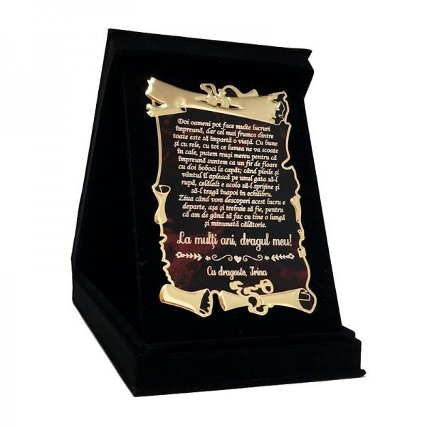 Cadou pentru iubitul meu
