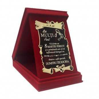 Cadou de 8 Martie pentru Sefa