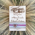 Invitatie rustica de lemn Fields of Gold