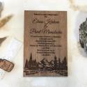 Invitatie nunta Mountain Lake