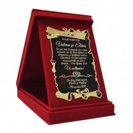 Cadou de multumire pentru Nasii de nunta