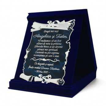 Cadou de multumire pentru Nasii de botez
