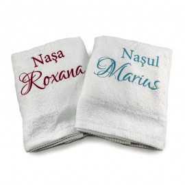 Set prosoape personalizate Nasul-Nasa