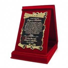Cadou de apreciere pentru nasii de nunta