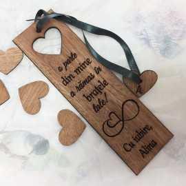 Semn de carte cadou pentru iubit