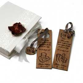 Semne de carte personalizate pentru nasi