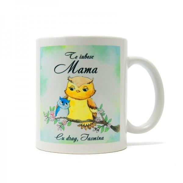 Cana personalizata Cadou mama