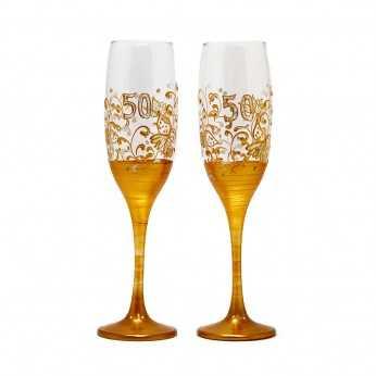 Pahare personalizate pentru 50 de ani casatorie