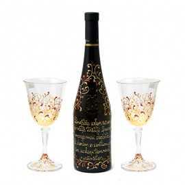 Set vin Cadou aniversare Sef in cutie gravata