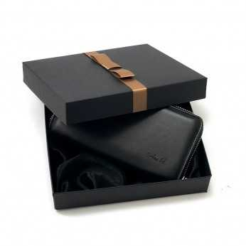 Portofel de femei negru personalizat