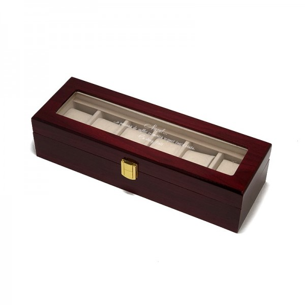 Cutie pentru 6 ceasuri barbati gravata