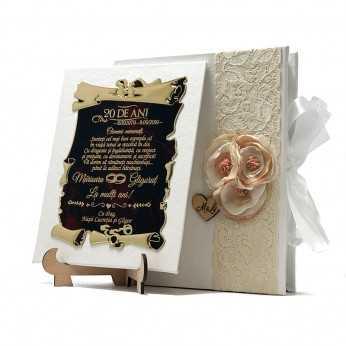 Cadou handmade Aniversare nunta de portelan