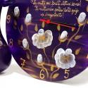 Set pictat vaza si ceas cadou 60 de ani