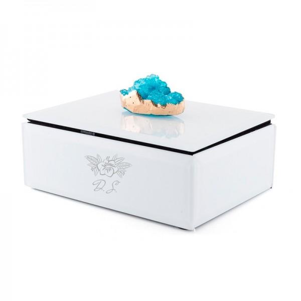 Cutie bijuterii blue stone