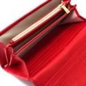 Portofel de femei rosu personalizat