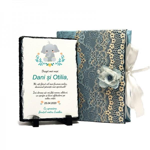 Cadou nasi personalizat Baby Elephant