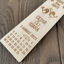 Semn de carte Save the date