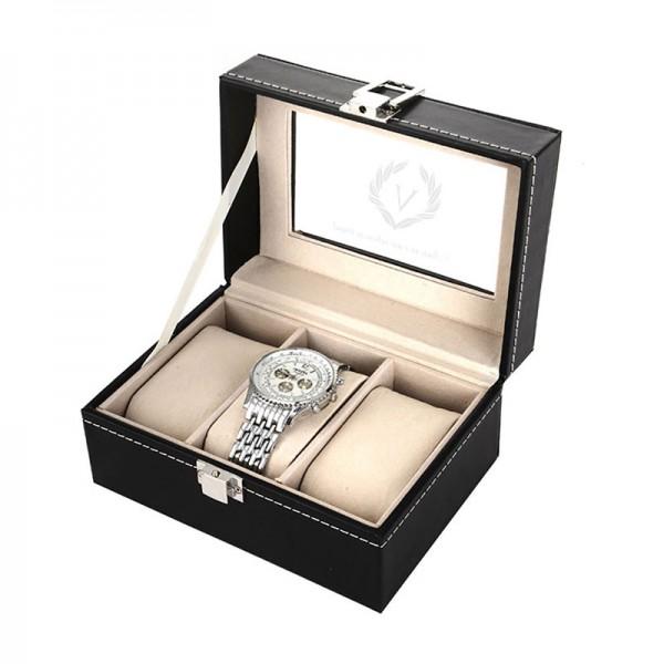 Cutie pentru 3 ceasuri personalizata