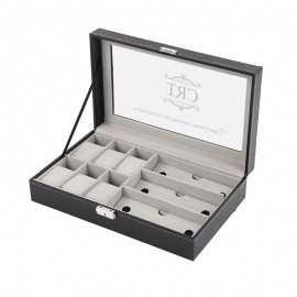 Cutie ceasuri si ochelari personalizata